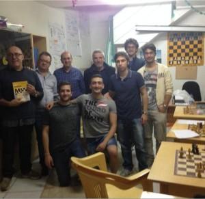 In alto, da sinistra: Leone, Marino, Lamberti, De Feo, Vertuccio, Amato, Gatto;  in basso: Noschese, Abate