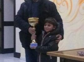 Luca, 1° Classificato Under 8
