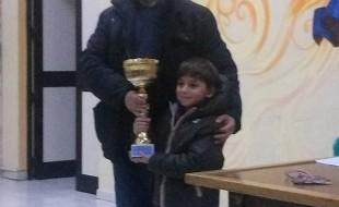 Luca, 1° Classificato Under 8